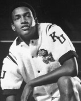 Bud Stallworth Kansas Jayhawks Basketball Jersey-Blue